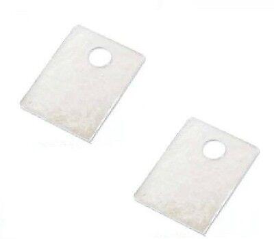 5pcs MICA HEAT RESISTANT INSULATION INSULATOR Flexible SHEET 250*200*0.5mm  GY