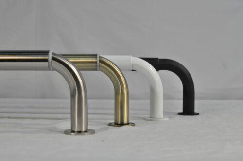 "Urbanest Energy Saving Wraparound Black Out Curved Return Rod Sets 1/"" Adjustable"