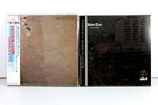 BRIAN ENO ~ JAPAN MINI LP CD x 2 ALBUMS, ORIGINAL, RARE, OOP