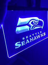 NFL Seattle Seahawks LED Neon Sign for Game Room,Office,Bar,Man Cave Super NEW