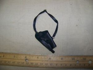 1-6th-Scale-Dragon-GI-Joe-Black-Leather-Shoulder-Holster