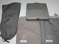 New Lufthansa First Class Amenity Kit Pajamas Size L & On board Slippers