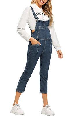 Yesgirl Donna Salopette Pantaloni Lunghi Elegante Moda Tasche Solido Colore Ufficio Casuale Jumpsuit Tuta