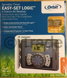 Orbit-27894-4-Station-Indoor-Outdoor-Irrigation-Timer-New-Free-Shipping