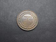 5 Centimes 1891 A Tunesien