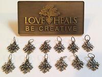 Love Heals Be Creative Snowflake Birthstone Charms Retails $25.00