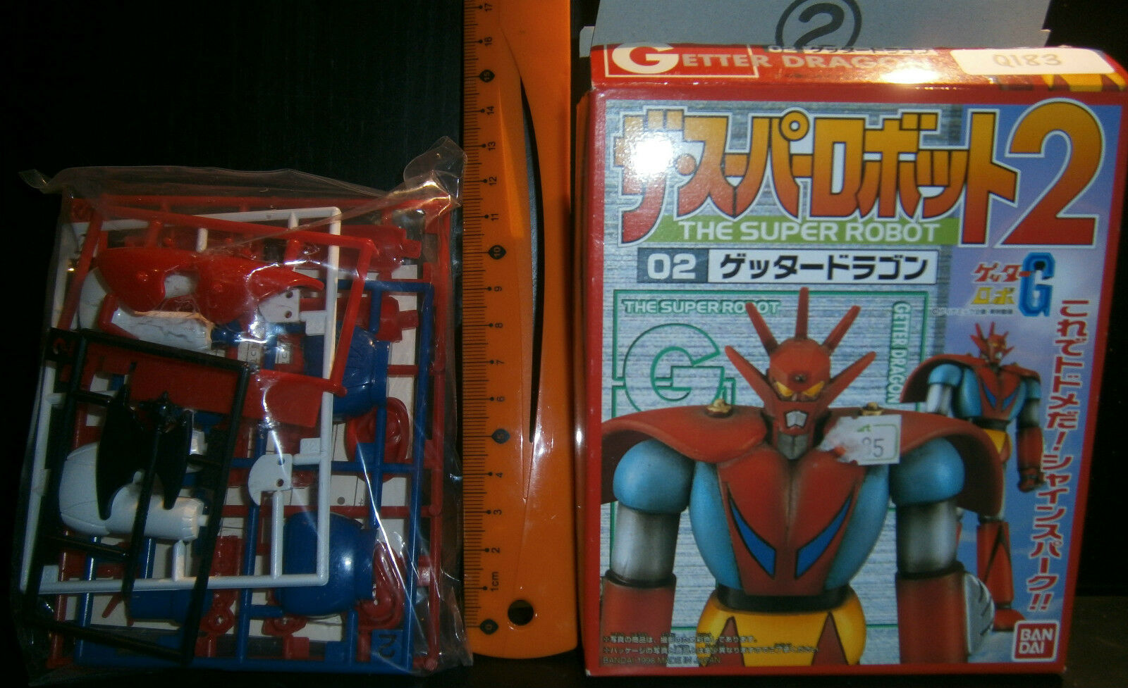 Getter Dragon The Super Robot Plastic Model Kit Figure