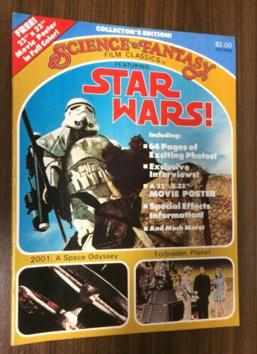 1977 SCIENCE FANTASY Film Classics #1 STAR WARS
