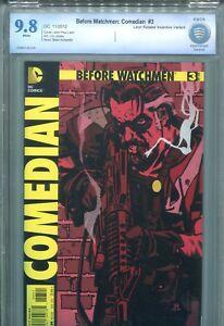 Before Watchmen Comedian #3 NM `12 Azzarello/ Jones