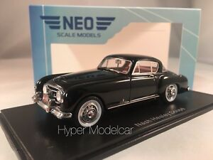 NEO-SCALE-MODELS-1-43-Nash-Healey-1954-Black-Art-NEO44660