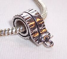 Measuring Tape Measure Seamstress Sewing Bead for Silver European Charm Bracelet