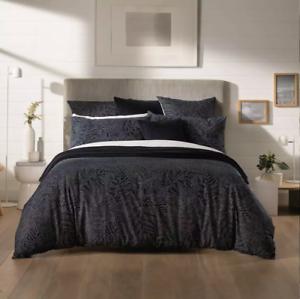 Euro Square Single Pillowcase 65x65cm Midnight Sheridan Makers