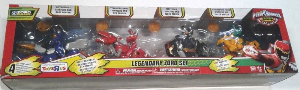 Power Rangers Dino Charge Legendary Zord Combines With Megazord  T-Rex Mastadon