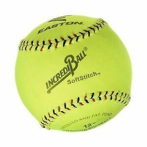 Ragballs A122609t Incrediball Polyester Softball 12 Size Yellow