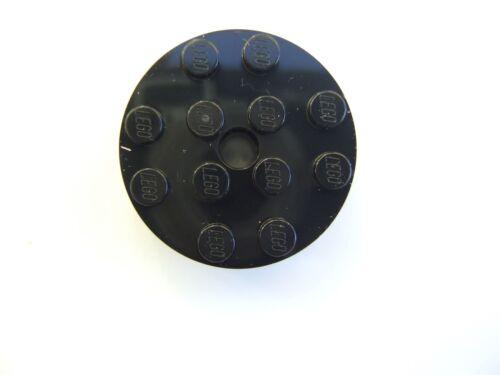 Lego black Brick 4x4 Rond avec 0.49 avec KL 4558957 pièces et morceaux