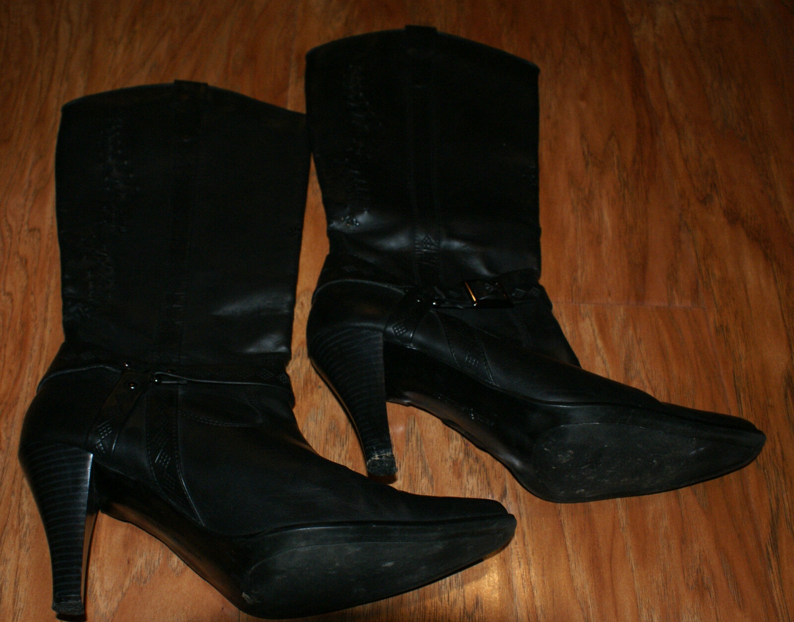 Victoria Spenser Womens Boots Size 10 M Black Style Traci