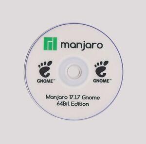 Details about MANJARO 18 0 GNOME LIVE 64Bit Discount & Multi Distros Discs  £1 20 1st Class Pt