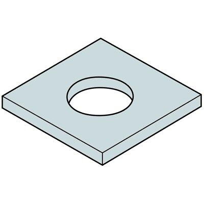 Any ID 6mm Mild Steel Custom Cut Washer Any OD Up To 100mm
