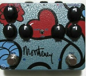 Used Keeley Monterey Rotary Fuzz Vibe Guitar Effects Pedal