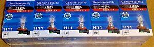 10-x-H11-711-55w-Clear-Headlight-Headlamp-Bulbs-12v-TOYOTA-AURIS-PRIUS-IS220D-UK