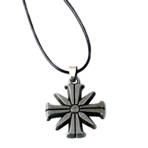 2018 HOT Far Cry 5 Action Figure Toy Eden/'s Gate Metal Keychain Keyring Necklace