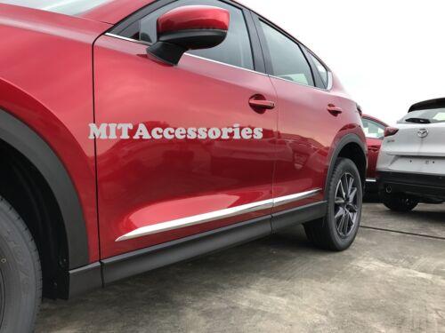 MIT MAZDA CX-5 2017-on 2nd Gen door body side molding cover chrome trim garnish