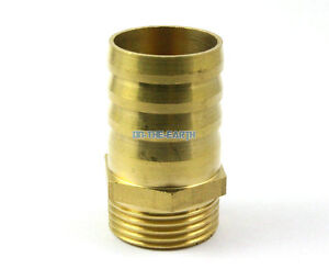 """20 Brass Male 1//4/"""" BSP x 6mm Barb Hose Tail Fitting Fuel Air Gas Hose Connector"""