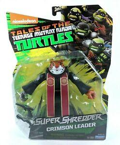Teenage Mutant Ninja Turtles - Crimson Leader - figure TMNT Nickelodeon NEW