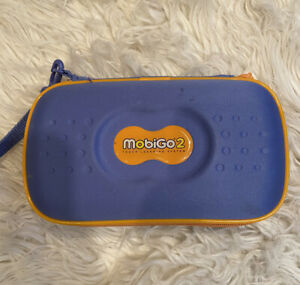 Parts ONLY VTech Mobigo 2 Touch Learning System Bundle in Carry Case - 4 Games