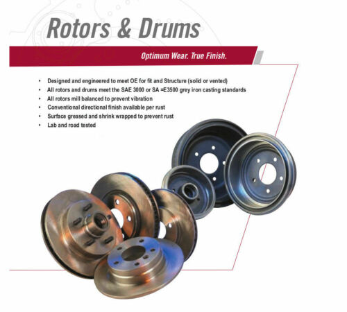 REAR Brake Rotor Pair of 2 Fits 79-81 Toyota Celica