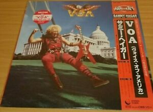 SAMMY-HAGAR-VOA-JAPAN-SEALED-LP-Van-Halen-montrose-kiss-ac-dc-metallica-journey