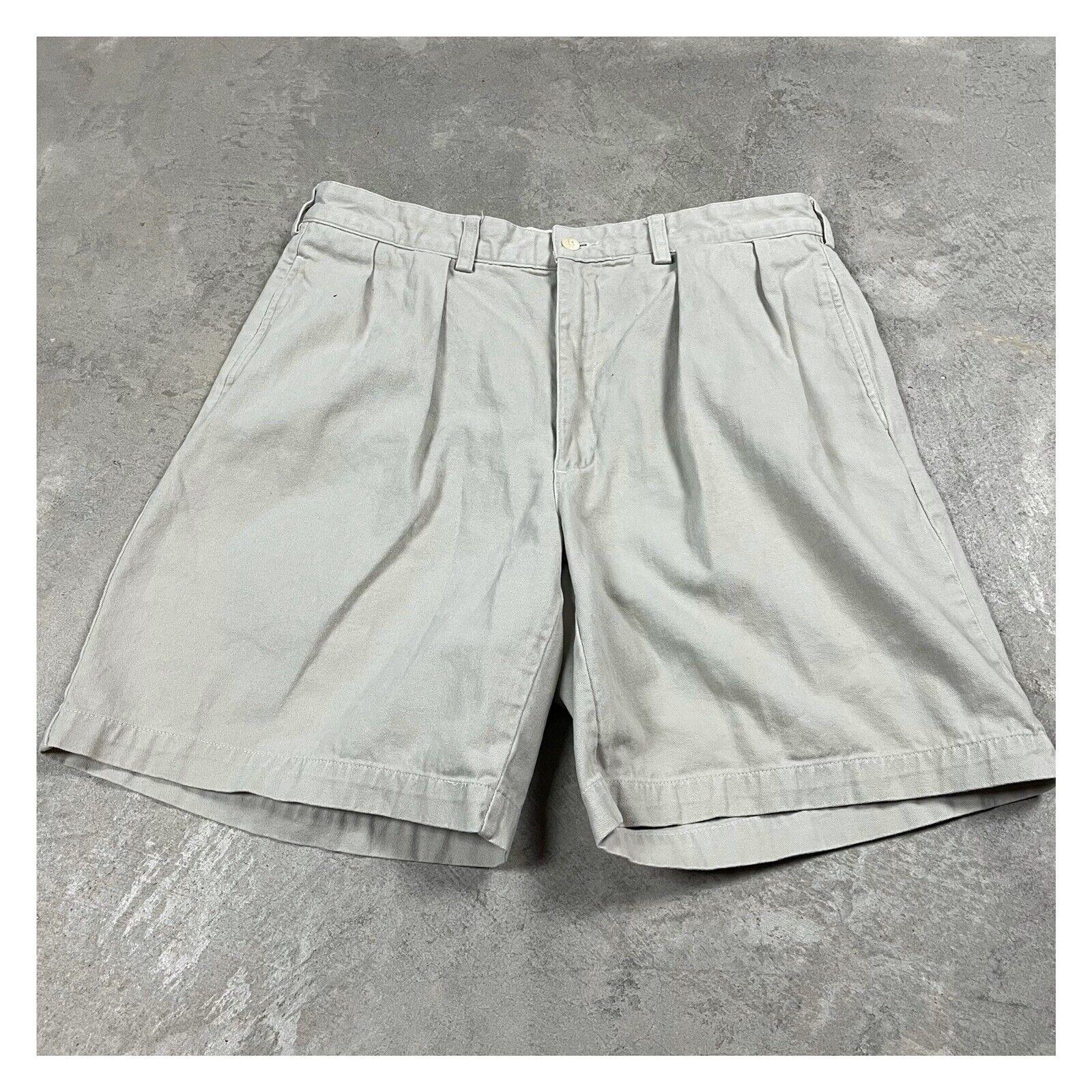 90s VTG POLO RALPH LAUREN Shorts 35 34 Waist Chin… - image 1