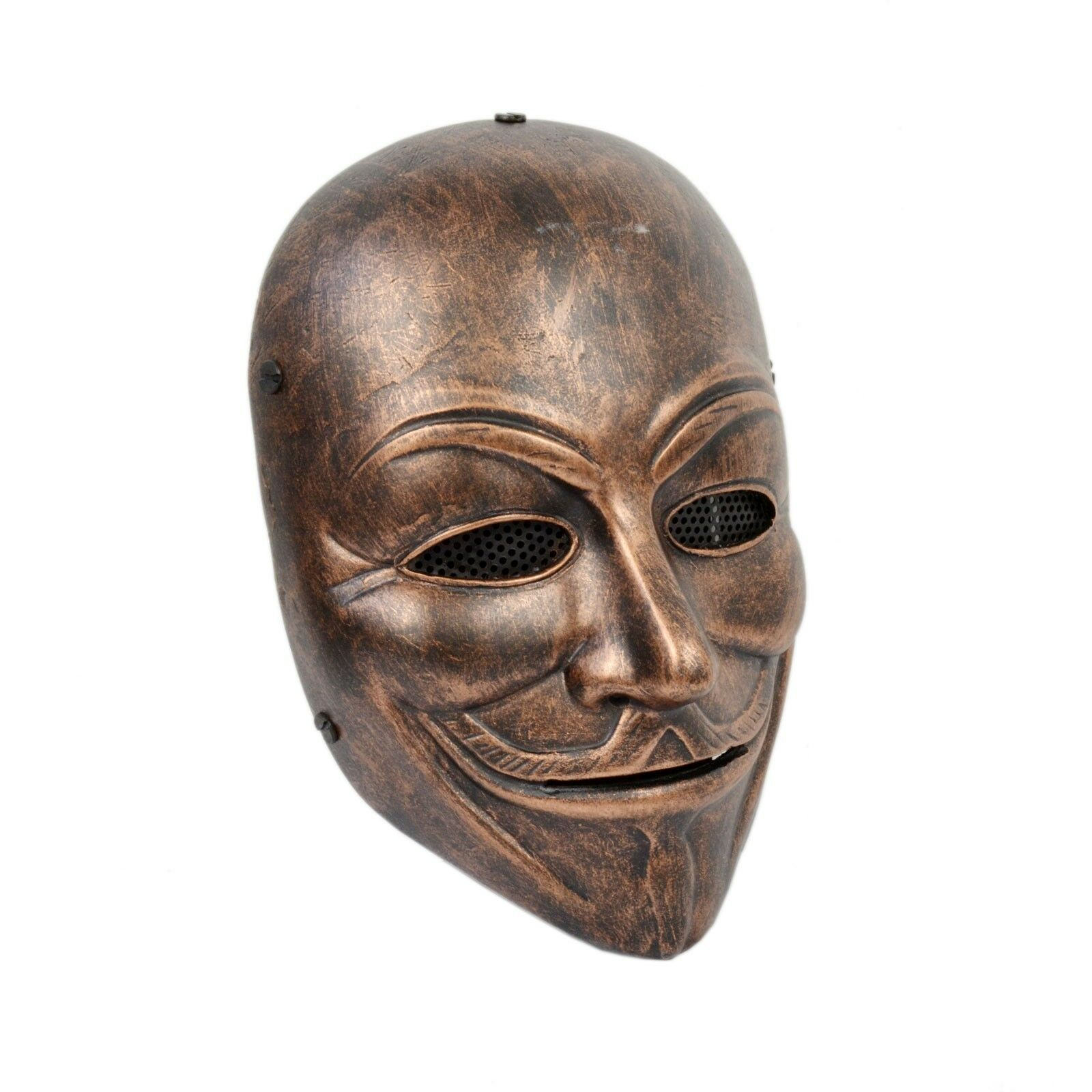 Paintball Airsoft Full Face Predection V for Vendetta Mask PROP Cosplay A52B