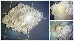 Rosette diamond in staff (reinforced) 65x50cm plaster cast ...