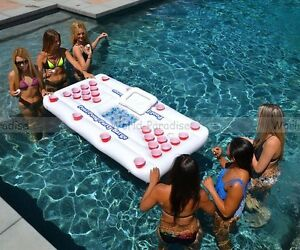 Bière pong gonflable 2017 - Beer pong table pool summer water party NEW alcool
