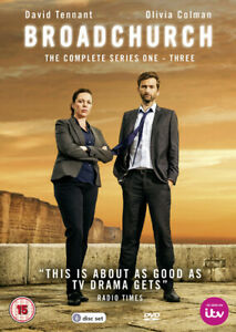 Broadchurch-The-Complete-Series-1-3-DVD-2017-David-Tennant-cert-15-6-discs