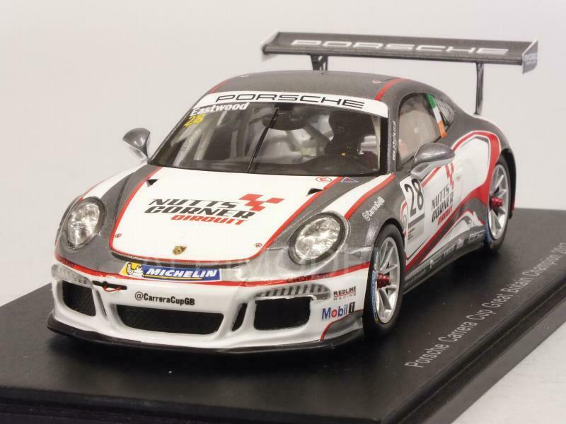 Porsche 911 GT3 Champion Carrera Cup Great Britain 2017 Cha 1 43 SPARK UK003