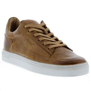 Blackstone-MEN-039-S-NEW-Premium-in-Pelle-KM01-Comfort-Scarpe-Casual-Scarpe-da-ginnastica-Brown