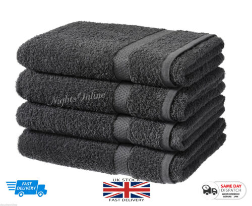 Nouveau Luxe Pack de 2 Bath Sheets 100/% Coton Salle de Bain Douche Serviette De Dégagement