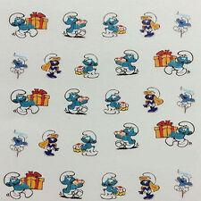 Nail Art Sticker Water Decals Transfer Stickers Smurfs Smurf (DBL1600)
