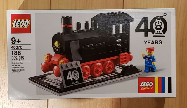 LEGO 40370 Train 40th Anniversary Steam Engine  Brand New Factory Sealed