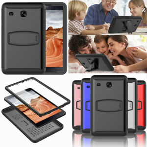 For-Samsung-Galaxy-Tab-E-8-0-039-039-T377-Hybrid-Shockproof-Case-with-Screen-Protector
