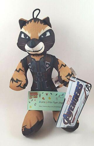 Complete set of 6 Marvel Comics The Avengers Endgame Plush Stuffed Animal Movie