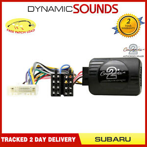 Voiture-Stereo-Direction-Roue-Interface-Controle-Adaptateur-pour-Subaru-Outback