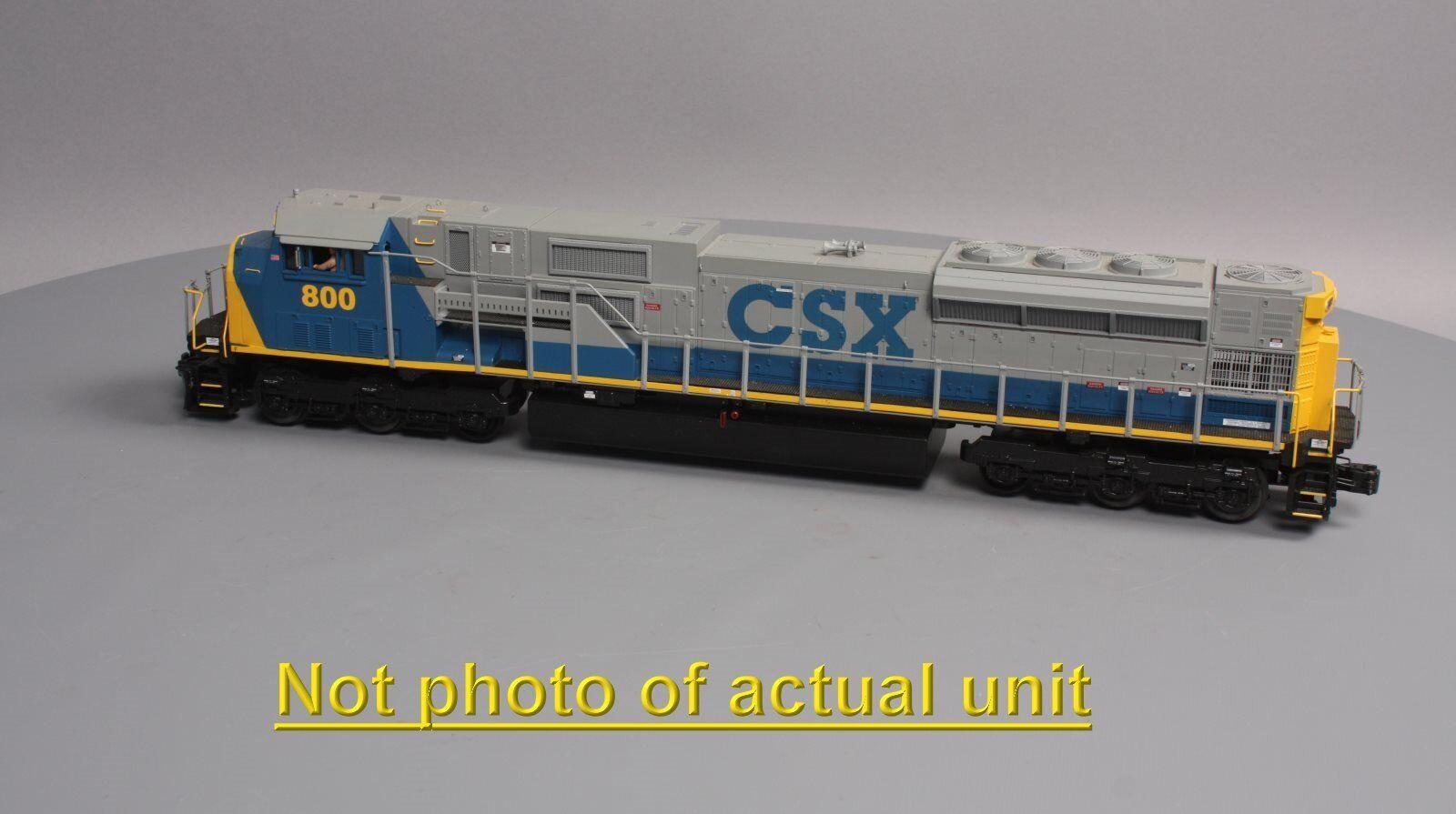 MTH 20-2473-3 CSX SD80 sin alimentación Locomotora Diesel