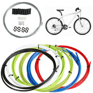 Bicycle Bike Brake Shift Derailleur Brake Cable Tube Housing Hose Set 5 Colors