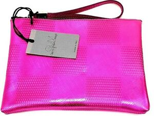 Dise Embrague Metal Dama de embrague Bolsa Gianni Fuchsia o Handle Goma Chiarini Sobre 1xZq6EU