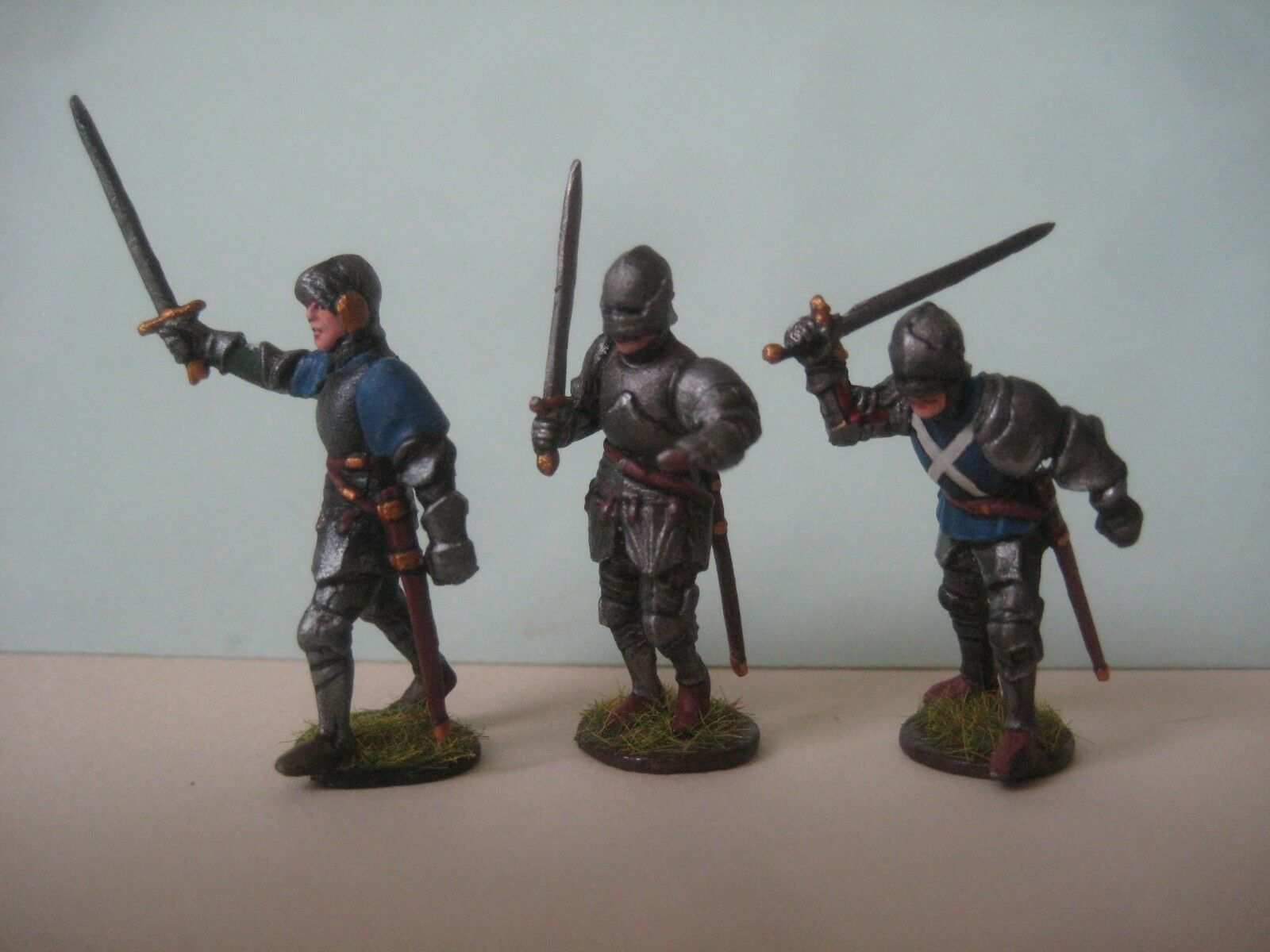 = 28mm Three Knights Tin Models ( HAND PAINTED FIGURES ) =