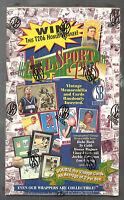 1996-97 Scoreboard All Sport Ppf Factory Sealed Box Possible Ruth Memorabilia