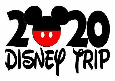 DISNEY MICKEY MOUSE DISNEY TRIP VACATION 2020 SHIRT IRON ...